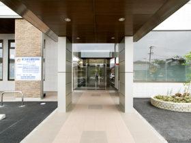 クリニック入口の写真