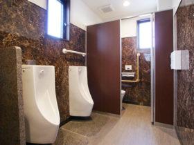 男性用トイレ写真